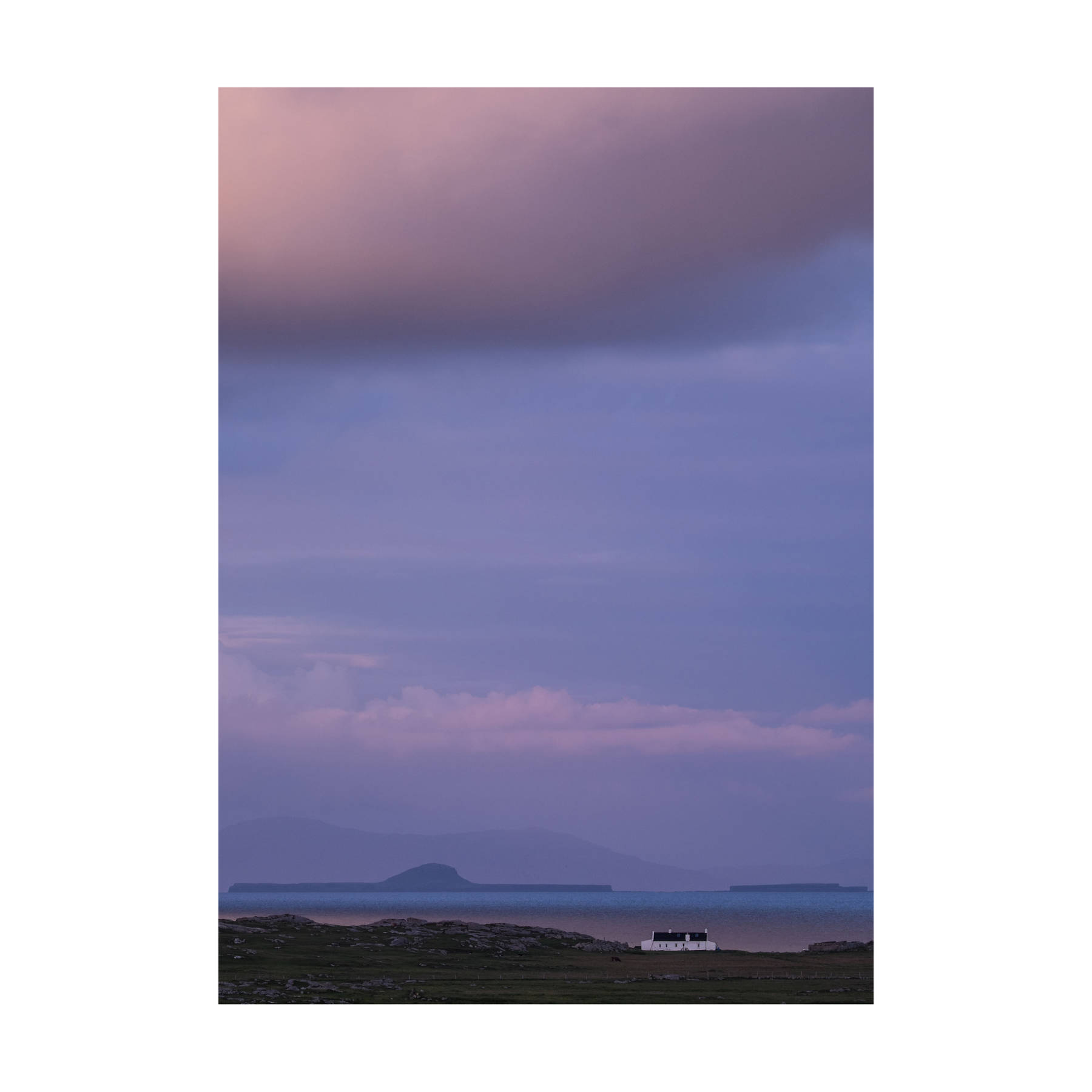 Dusk Overlooking Bac Mòr from Tiree